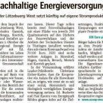 Projet Klimbera - Artikel op mywort.lu
