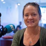 Projet RIKO II - D'Gestionnärin Sarah Mathieu am Moiesmagasinn vum Radio 100,7